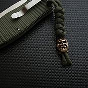 Сувениры и подарки handmade. Livemaster - original item Bead Thong for a knife of bronze ,bead for knife. Handmade.