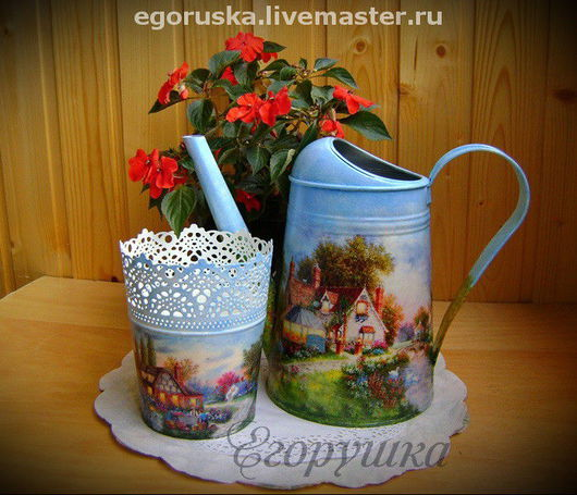 Watering Сans handmade. Livemaster - handmade. Buy The lake House,where he settled happiness.Lake