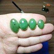 Материалы для творчества handmade. Livemaster - original item Jade cabochons lot of 6. Handmade.