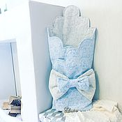 Конверты на выписку ручной работы. Ярмарка Мастеров - ручная работа Конверт - одеяло. Handmade.