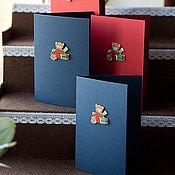 """Открытки ручной работы. Ярмарка Мастеров - ручная работа Открытка """"Мишка"""". Handmade."""
