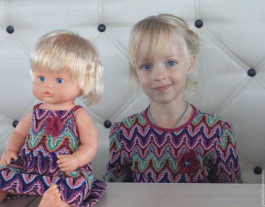 Одежда для девочек, ручной работы. Ярмарка Мастеров - ручная работа. Купить Платья для девочки и ее подружки. Handmade. Комбинированный