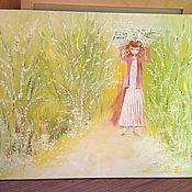Картины и панно handmade. Livemaster - original item Kariten oil handmade