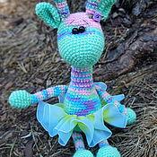 Куклы и игрушки ручной работы. Ярмарка Мастеров - ручная работа ЖираФФик. Жираф крючком. Handmade.
