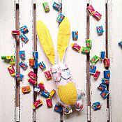 Куклы и игрушки ручной работы. Ярмарка Мастеров - ручная работа Летний зайка. Handmade.