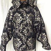 Одежда ручной работы. Ярмарка Мастеров - ручная работа Куртка Черный гранат. Handmade.