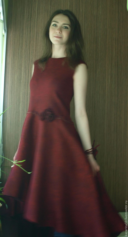 Dress Bordeaux, Dresses, Moscow,  Фото №1