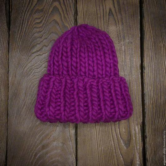 Шапка bini, шапка с подворотом, объемная шапка цена 2500 скидка 20% цена 2000