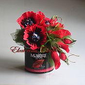 Цветы и флористика ручной работы. Ярмарка Мастеров - ручная работа Чайная магия (букет из конфет). Handmade.