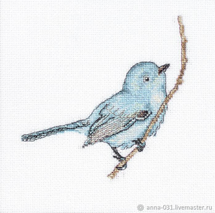 Набор для вышивания LUCA-S  Певчая птица, Схемы для вышивки, Курчатов,  Фото №1