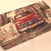 Подарки к праздникам ручной работы. Ярмарка Мастеров - ручная работа Рэтро-авто. Handmade.