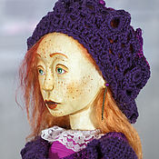 Куклы и игрушки handmade. Livemaster - original item Mobile author`s wooden doll Anouk in a private collection. Handmade.