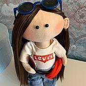 Портретная кукла ручной работы. Ярмарка Мастеров - ручная работа Портретная кукла: для девочки-подростка.. Handmade.