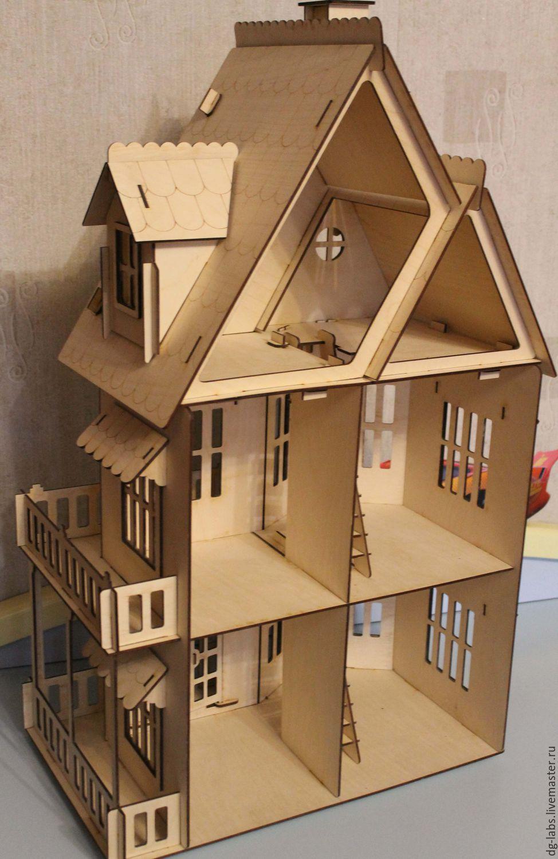 Кукольный домик из фанеры своими 52