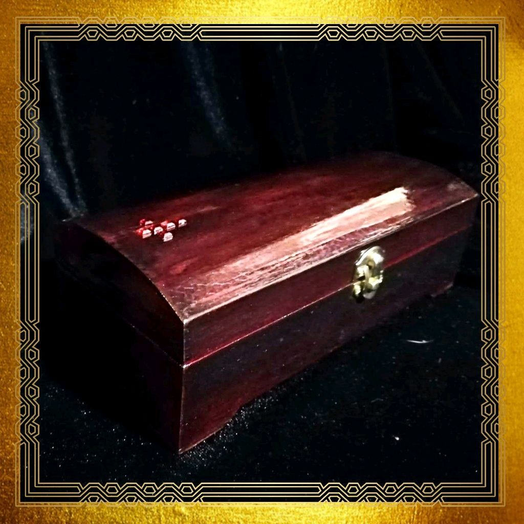 Gothic jewelry box Coffin . Coffin casket for doll, Souvenirs, Moscow,  Фото №1