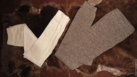 Белье ручной работы. Ярмарка Мастеров - ручная работа. Купить Гамаши из натуральной шерсти. Handmade. Гамаши, зима, 100% шерсть