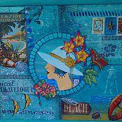 Картины и панно ручной работы. Ярмарка Мастеров - ручная работа Отпуск на море. Handmade.