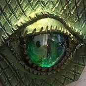 Украшения ручной работы. Ярмарка Мастеров - ручная работа Подвеска Зелёный дракон. Handmade.