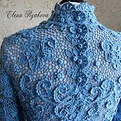 Одежда handmade. Livemaster - original item Jerseys: Lace sweater