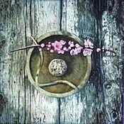 Открытки handmade. Livemaster - original item Sakura. Handmade.