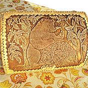 """Для дома и интерьера ручной работы. Ярмарка Мастеров - ручная работа Хлебница из бересты """"Мишка"""". Handmade."""