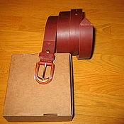 Ремни ручной работы. Ярмарка Мастеров - ручная работа Ремень кожаный женский. Handmade.