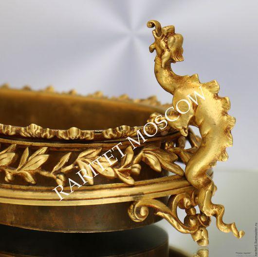 Винтажные предметы интерьера. Ярмарка Мастеров - ручная работа. Купить 19 век Дворцовая ваза кашпо бронза Франция 1. Handmade.