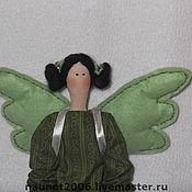 Куклы и игрушки ручной работы. Ярмарка Мастеров - ручная работа УЛЕТЕЛА Милая Оливка (Зеленый Ангел). Handmade.