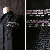 Одежда handmade. Livemaster - original item Shirt womens. Cotton 100. Handmade.