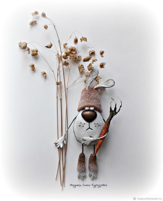 Заяц Феоктист. Жадинка, Мини фигурки и статуэтки, Владивосток,  Фото №1