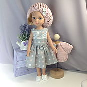 Куклы и игрушки handmade. Livemaster - original item Polka dot dress