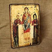 Картины и панно handmade. Livemaster - original item The icon of the mother of God Svenska (caves). Handmade.