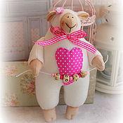 Куклы и игрушки ручной работы. Ярмарка Мастеров - ручная работа Овечка LOVE. Handmade.
