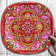 Decorative plate 'Russian soul' hand painted, Plates, Krasnodar,  Фото №1