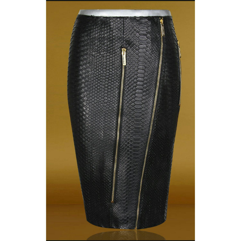 Pencil skirt made of genuine Python leather, Skirts, Barnaul,  Фото №1