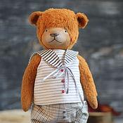 Куклы и игрушки ручной работы. Ярмарка Мастеров - ручная работа Рыженький Benjamin (25 см). Handmade.