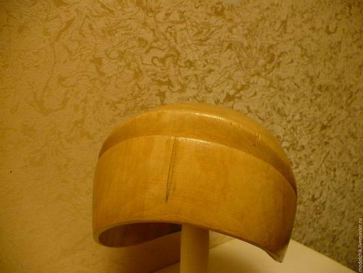 Манекены ручной работы. Ярмарка Мастеров - ручная работа. Купить 212 Болванка Шляпка с рельефом. Handmade. Болванка, шляпная болванка