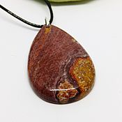 Украшения handmade. Livemaster - original item Heart pendant great forests of petrified wood. Handmade.