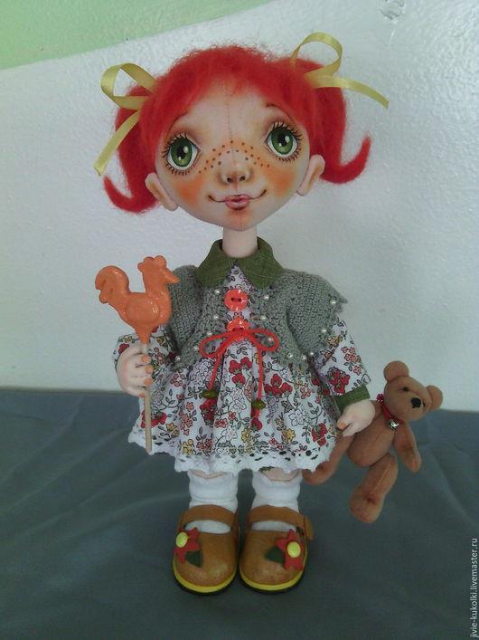 Коллекционные куклы ручной работы. Ярмарка Мастеров - ручная работа. Купить Лизонька-карамелька. Handmade. Карамелька, милая игрушка