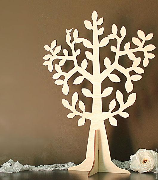 Декупаж и роспись ручной работы. Ярмарка Мастеров - ручная работа. Купить Дерево для декора, большое. Handmade. Дерево на подставке