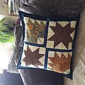 Для дома и интерьера ручной работы. Ярмарка Мастеров - ручная работа Наволочка на подушку. Handmade.