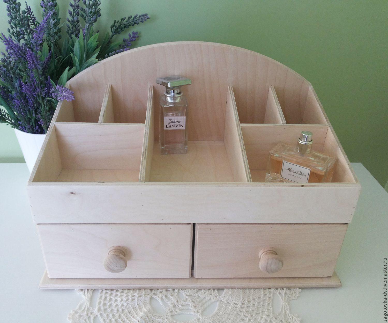 Деревянный ящик для косметики своими руками