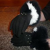 Аксессуары ручной работы. Ярмарка Мастеров - ручная работа перчатки жеские. Handmade.