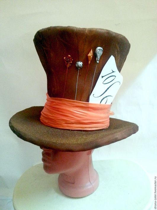 Шляпы ручной работы. Ярмарка Мастеров - ручная работа. Купить Шляпы для театра, аниматоров и карнавальных костюмов. Handmade. Цилиндр, аниматор