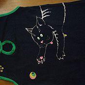 Одежда ручной работы. Ярмарка Мастеров - ручная работа нанесение узора/рисунка. Handmade.