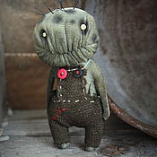 Куклы и игрушки handmade. Livemaster - original item little zombie.... Handmade.