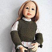 Куклы и игрушки handmade. Livemaster - original item Lea by Joke Grobben. Handmade.