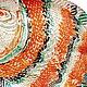 Животные ручной работы. Панно Рыба золотая бол.. Оза (decor33). Интернет-магазин Ярмарка Мастеров. Подарок, подарок преподавателю