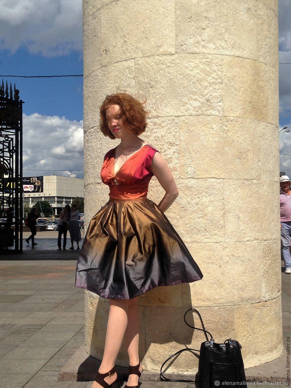 Платья ручной работы. Ярмарка Мастеров - ручная работа. Купить Платье бабочка. Handmade. Лето, платья, комбинированный, моды