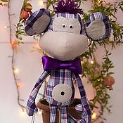 Куклы и игрушки ручной работы. Ярмарка Мастеров - ручная работа Обезьянка Толик. Handmade.
